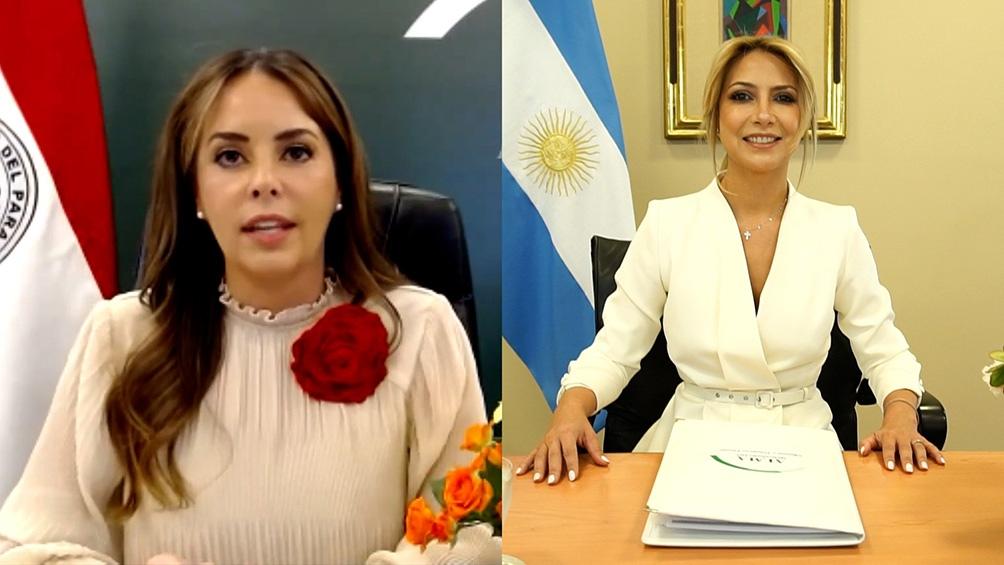 Fabiola Yañez, asumió ayer la coordinación general ALMA