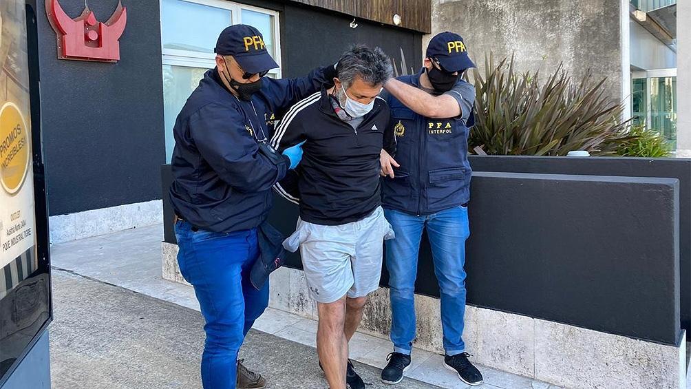 Sobre Víctor Vargotskii pesaba un pedido de captura internacional por lavado de dinero procedente del narcotráfico.