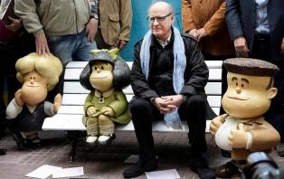 Los diputados rindieron un homenaje a Quino, el creador de Mafalda