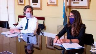 Gómez Alcorta, en la reunión del Gabinete Económico