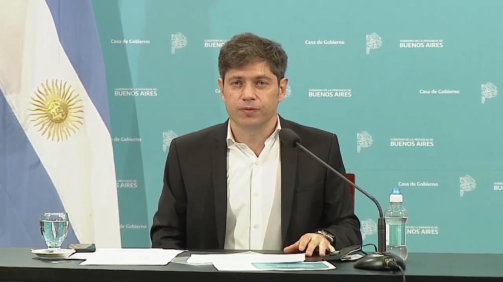 """Kicillof dijo estar """"100% de acuerdo"""" con Quirós en que la cuarentena evitó la catástrofe"""