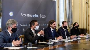Cafiero y Cabandié firmaron convenios para avanzar en la erradicación de basurales