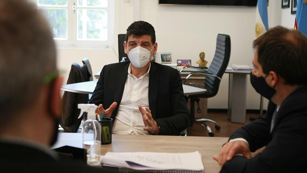Medina explicó que la región del AMBA es el epicentro de los contagios que después se dispersan al resto del país.