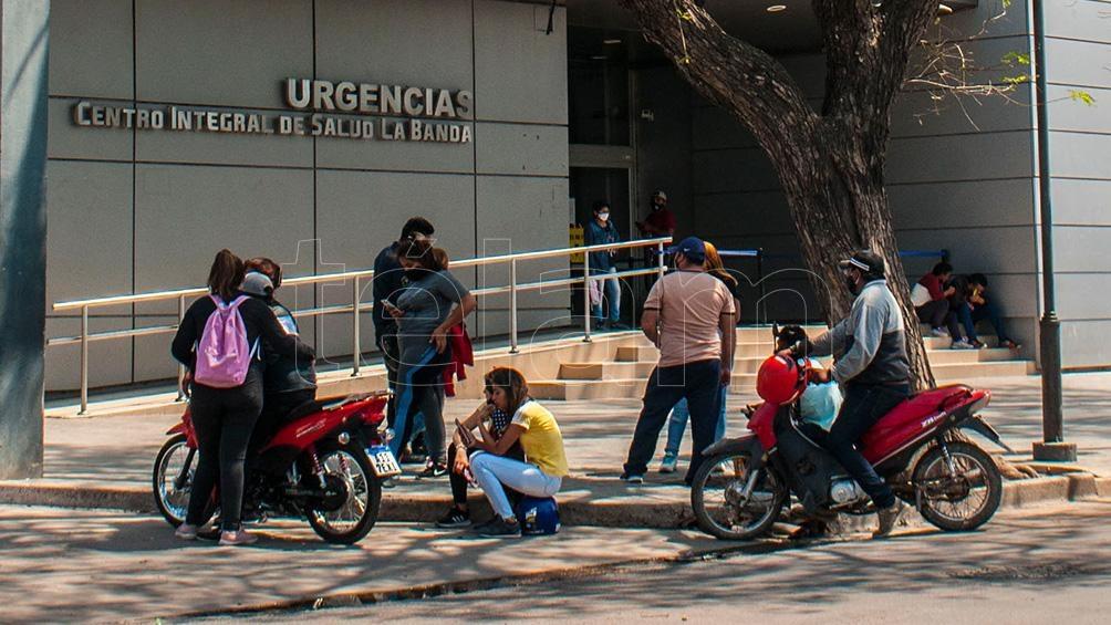 La mujer llegó muerta al Centro Inetgral de Salud de La Banda.