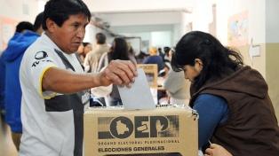 Habrá tres veedores argentinos en las elecciones de Bolivia