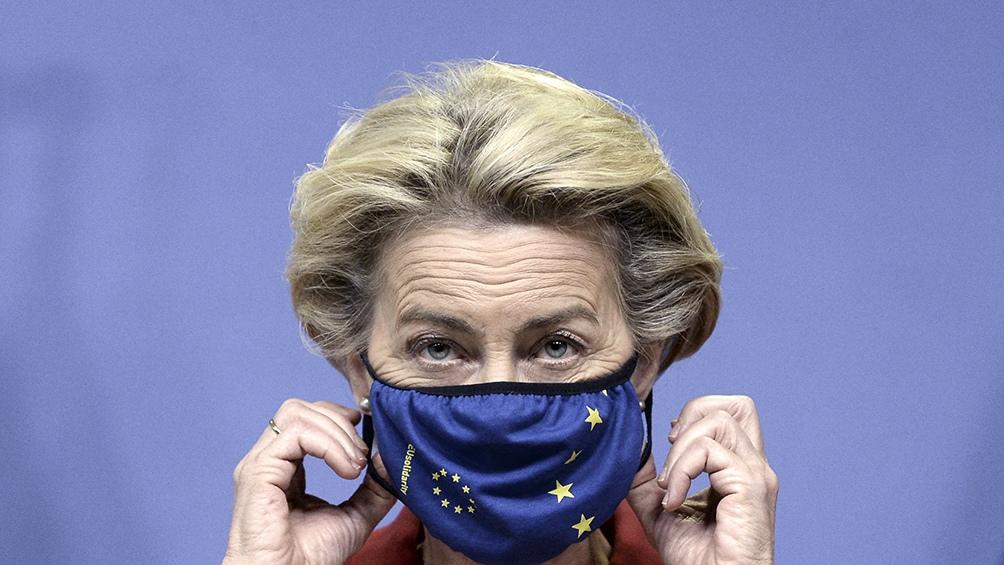Úrsula von der Leyen, presidenta de la Comisión Europea