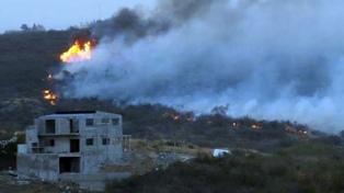 """El intendente de Villa Carlos Paz calificó como """"actos delictivos"""" los incendios en la zona"""