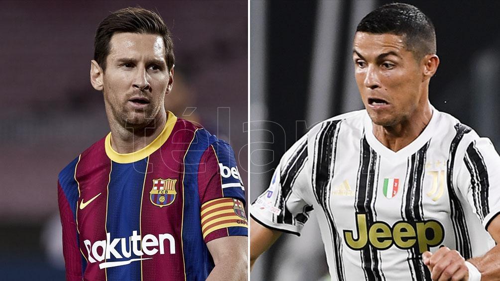 Cristiano Ronaldo convirtio 131 goles en la Champions, mientras que Messi hizo 115.