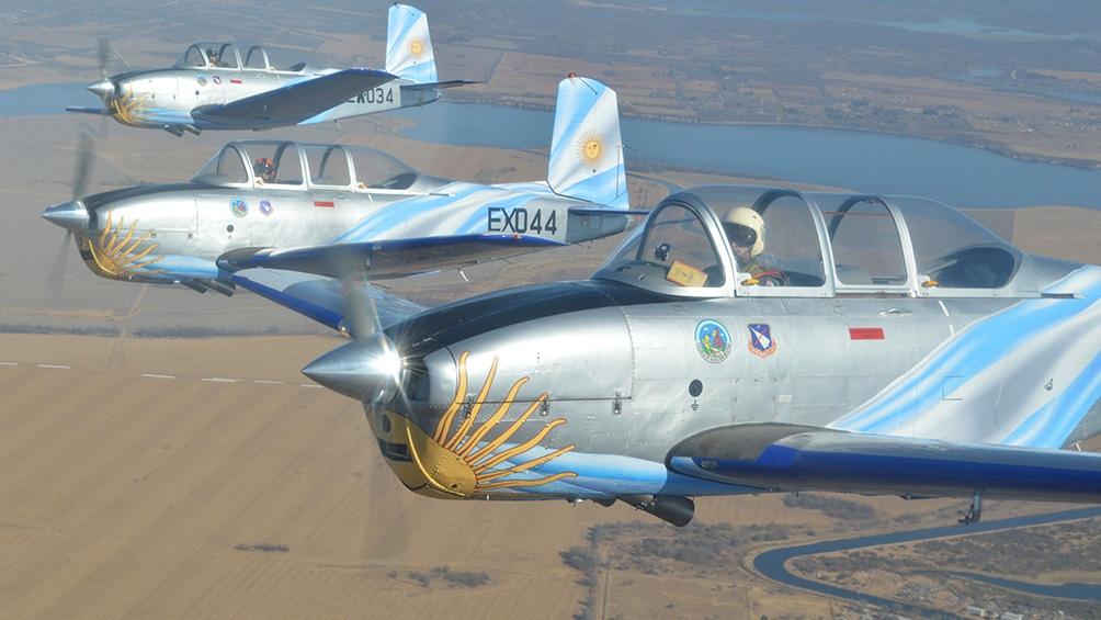 Con estos aviones históricos se busca es demostrar que pueden volar en sus condiciones originales.