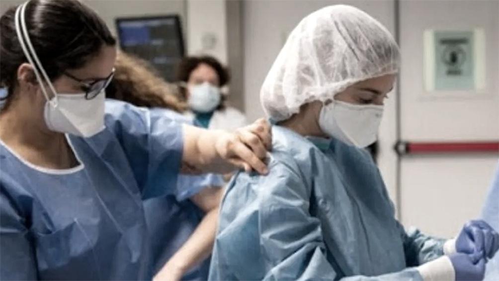 3.950 personas se encuentran internadas en unidades de terapia intensiva.