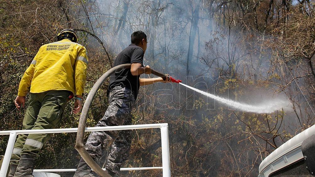 Incendios en varias provincias