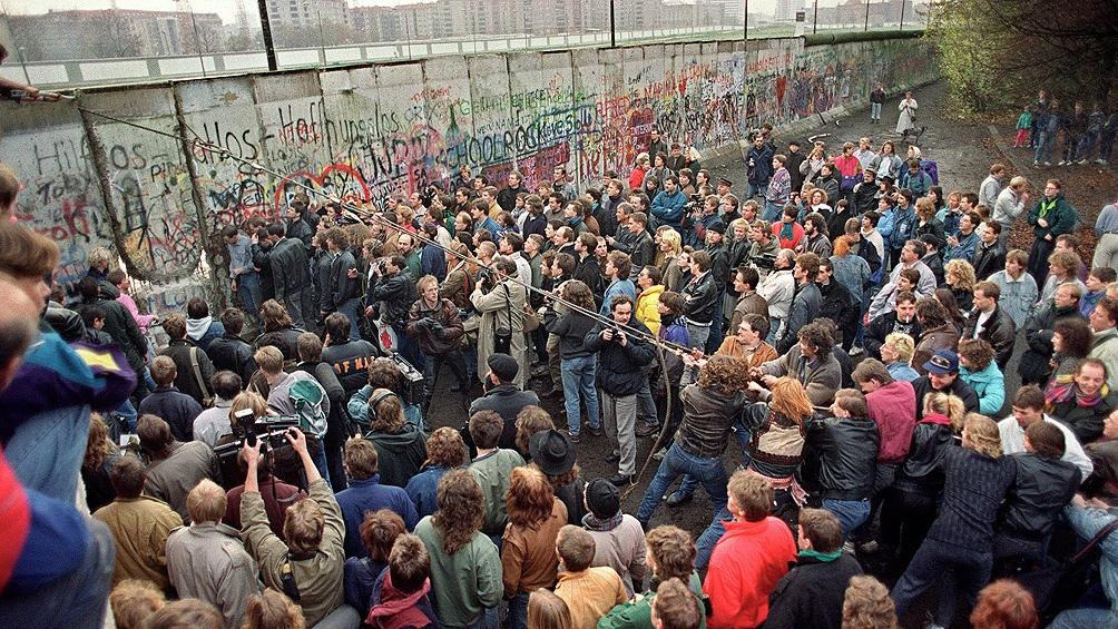 El fin del muro y la reunificación.
