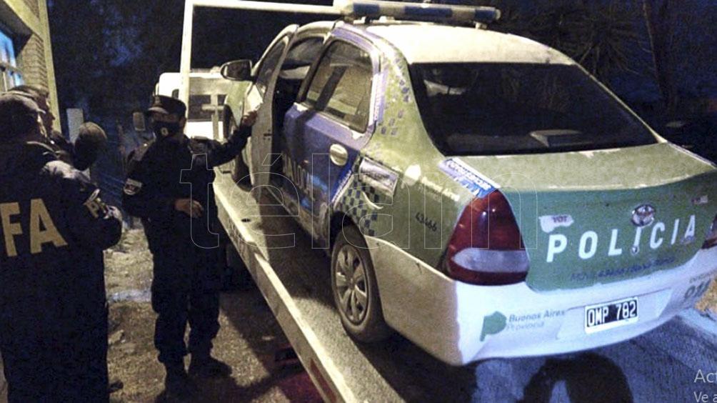 El patrullero Toyota Etios había merodeado el pantanal donde fue hallado el cadáver de Facundo.