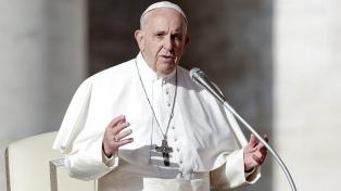 """Francisco pidió """"reacionar con urgencia"""" al cambio climático"""