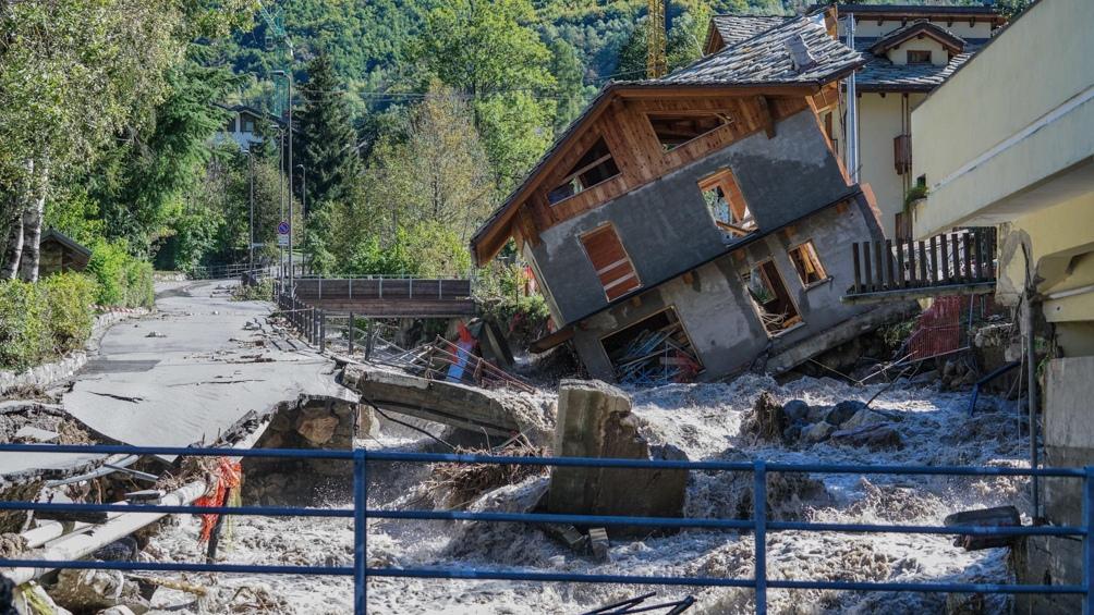 Piden Estado de Emergencia por inundaciones en Italia