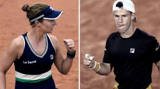 Podoroska y Schwartzman mantienen el buen nivel y van por más en Roland Garros