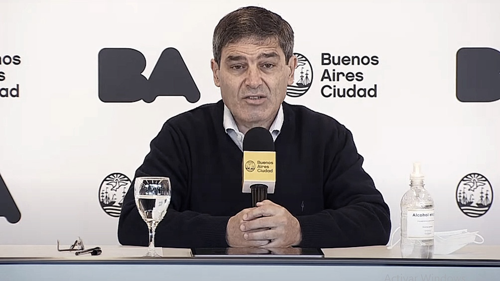 """Quirós reconoció que la ciudad de Buenos Aires """"puede haber alguna demora"""""""