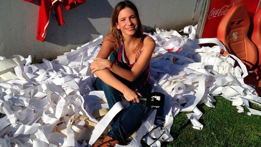 Ángela Lerena comentará los partidos de la selección de fútbol por las Eliminatorias.