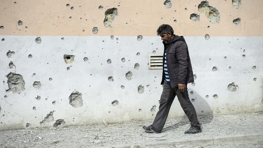 Los combates se iniciaron hace dos semanas en la región de Nagorno Karabaj