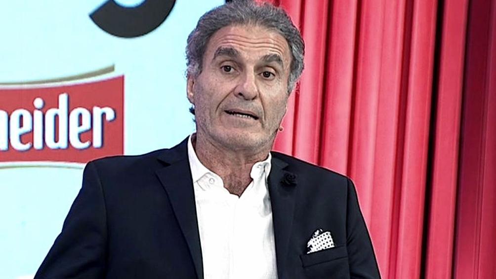 Ruggeri y duras declaraciones contra el titular de la Asociación del Fútbol Argentino., Claudio Tapia. Foto: imagenTV- archivo