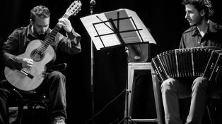 """El dúo Giro-Silveyra propone un renovado """"Encuentro"""" entre el bandoneón y la guitarra"""
