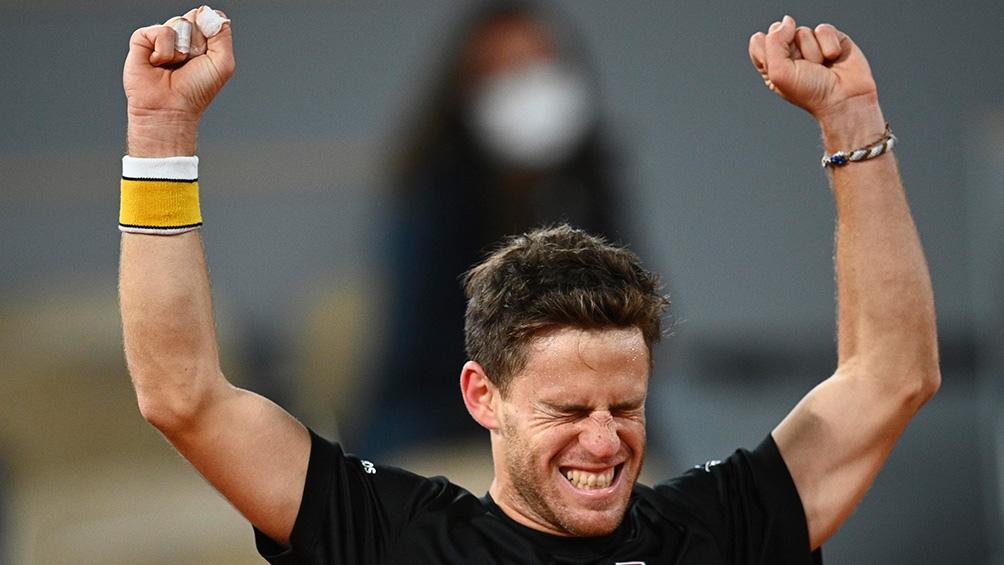 """El """"Peque"""" Schwartzman, de 28 años, comenzó en el puesto 14 del ranking mundial y lo finalizó en el noveno."""