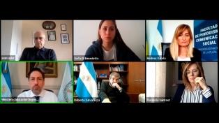 Trotta y Salvarezza inauguraron Congreso de Comunicación en la Universidad de La Plata