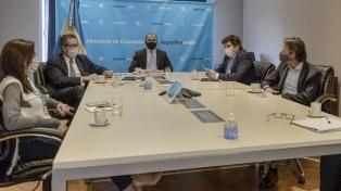"""Afirman que Pesce y Guzmán mantuvieron una """"excelente reunión"""" con la delegación del FMI"""