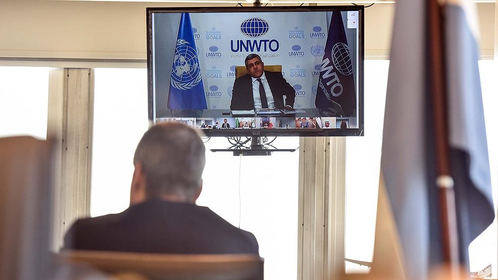 En el encuentro virtual participaron ministros de Turismo del G20 y el Consejo Mundial de Viajes y Turismo.