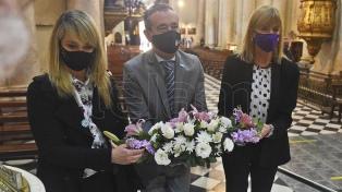 Por la pandemia, Rosario celebró su día con una caravana religiosa y un acto oficial sin público