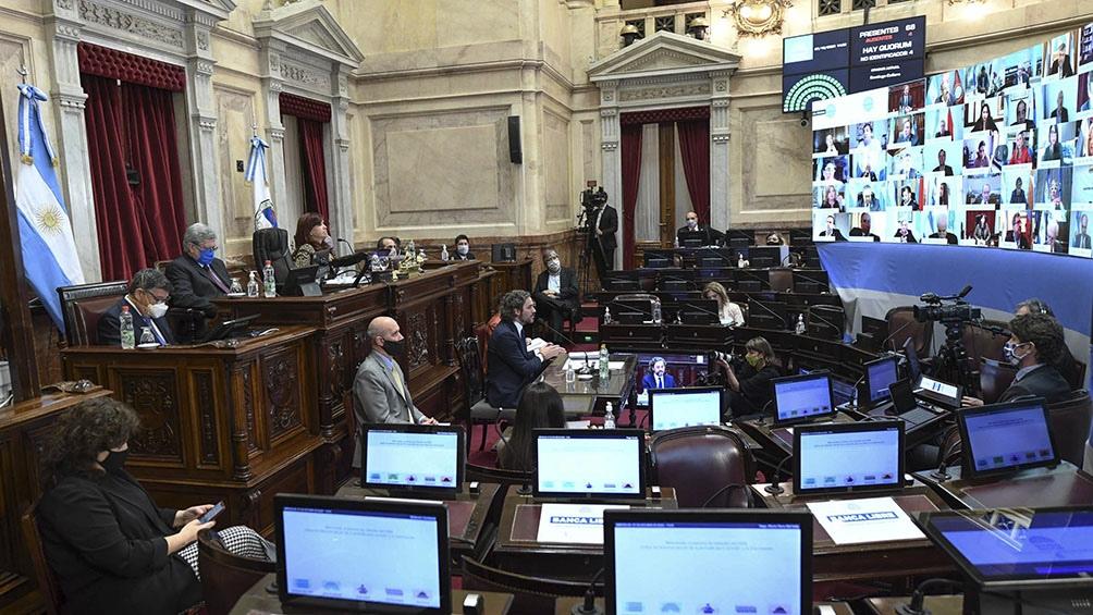 Cafiero analizó la situación de Venezuela al responder consultas de la oposición.