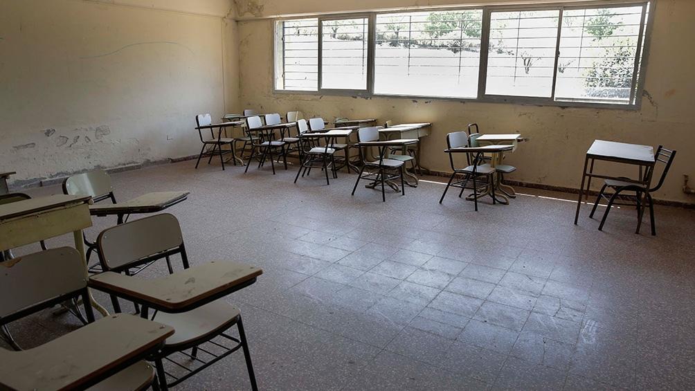 """Villegas inidicó que con los números de contagios que se publicaron en La Plata, donde se registraron 200 nuevos, """"no habría posibilidad"""" para la vuelta a las aulas."""