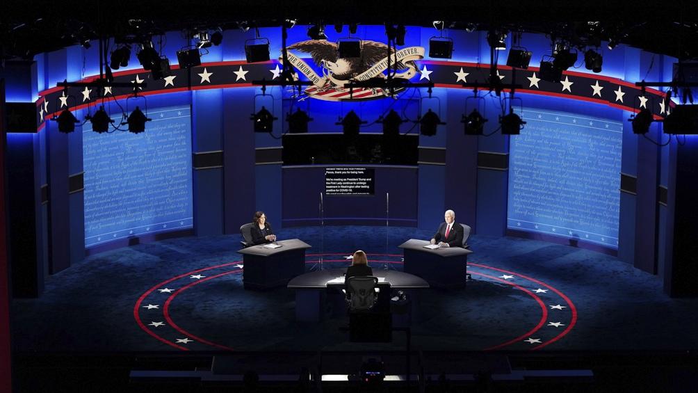 Debate de los candidatos a vicepresidente en Estados Unidos