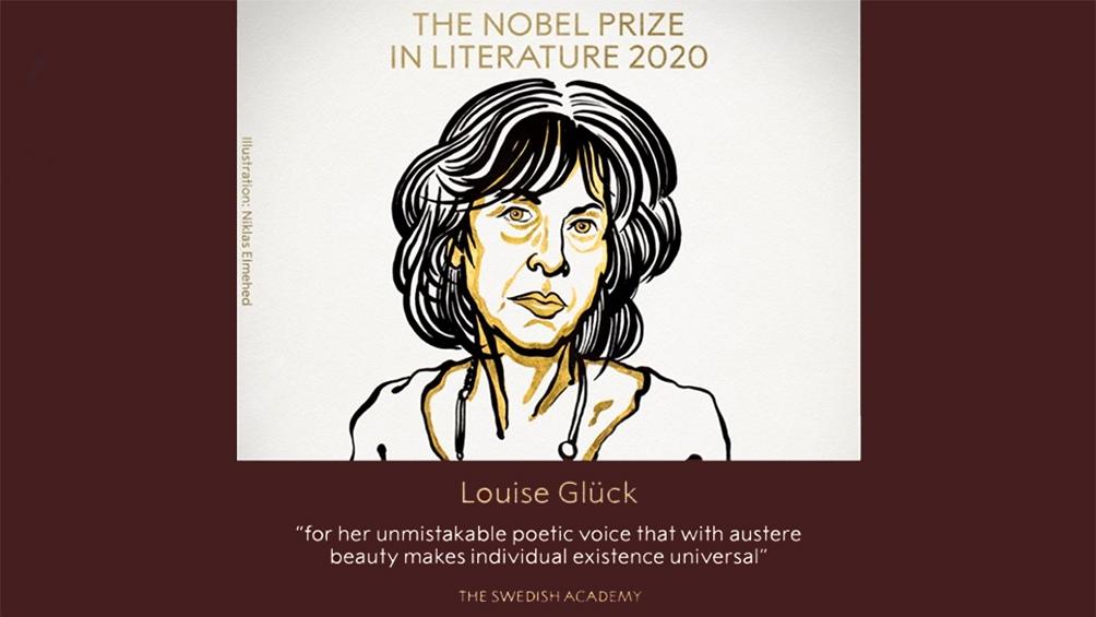 Louise Glück, la flamante ganadora del Nobel de Literatura.