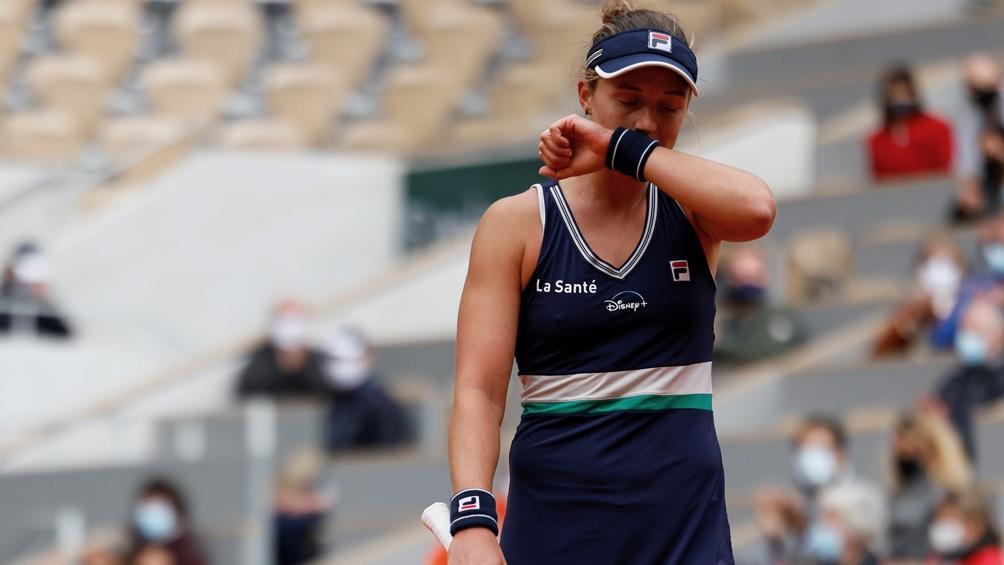 Podoroska perdió en dos sets
