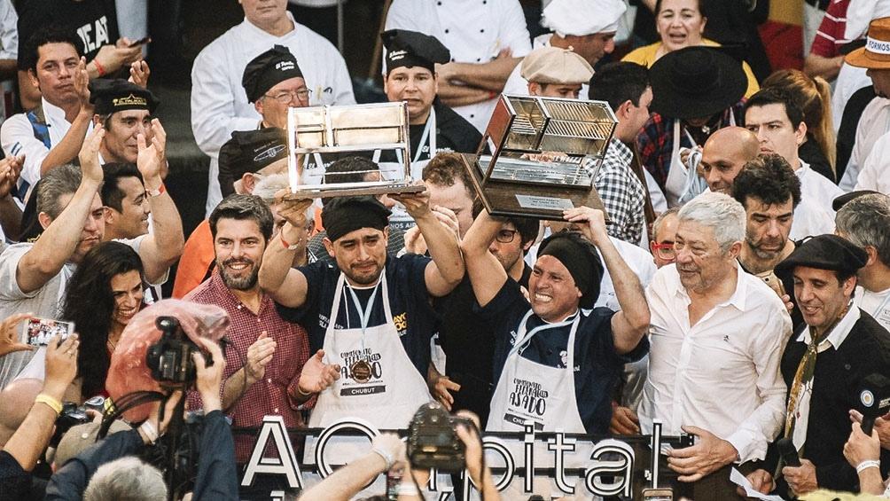 En septiembre de 2018, Gauna y Rosales se consagraron campeones en la Feria de Mataderos, en Buenos Aires.