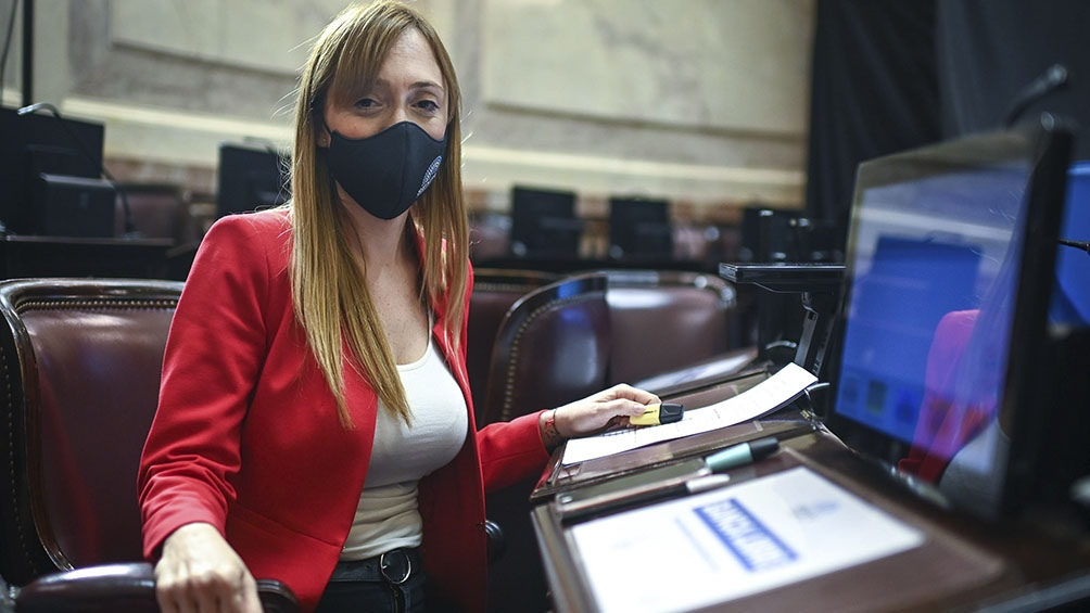 Anabel Fernández Sagasti propone que las asignaciones familiares también se computen durante la licencia por maternidad.