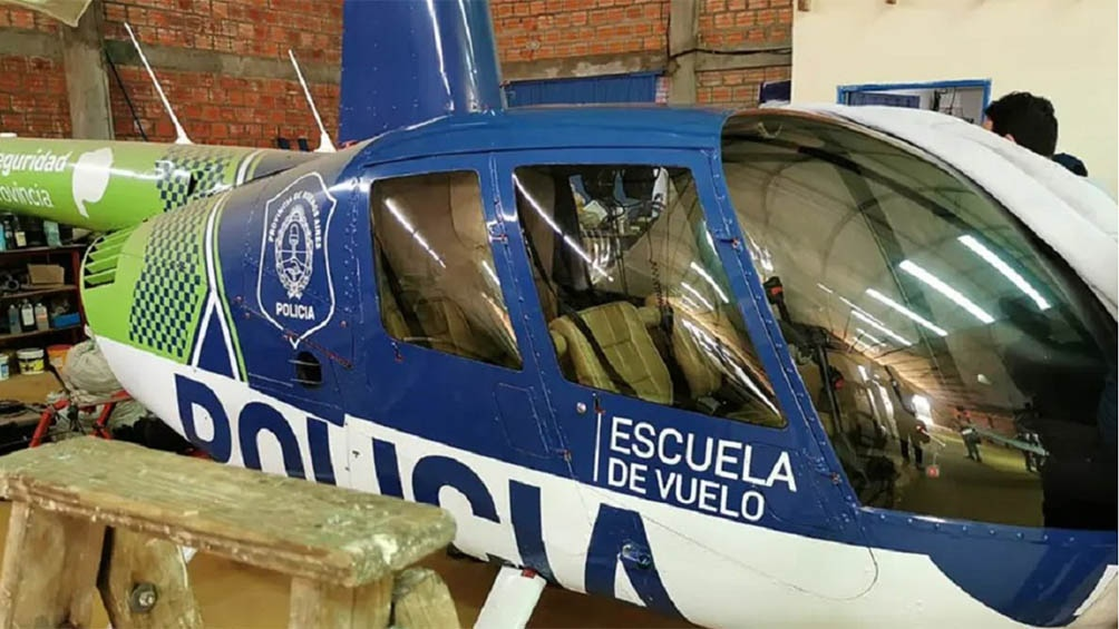 Helicóptero secuestrado en un hangar en Paraguay