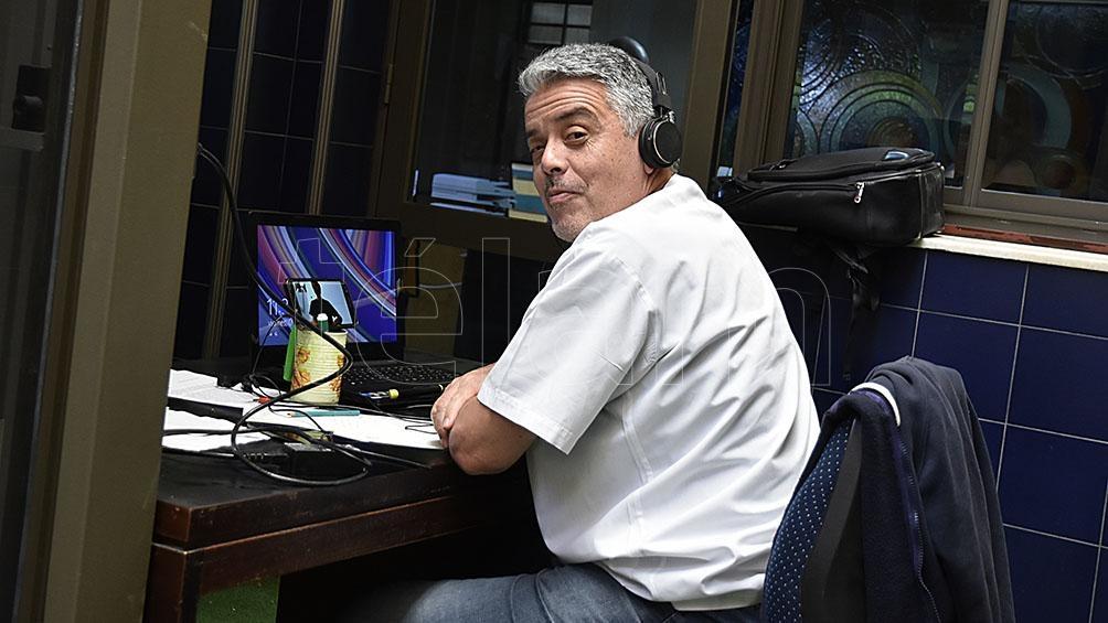 Hugo Kern, jefe del Departamento de Salud Mental de Bahía Blanca.
