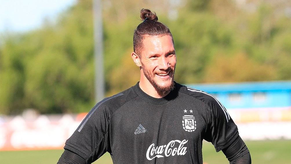 Jeremías Ledesma se sumó al seleccionado argentino