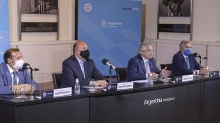 Perotti, Morales y Gutiérrez destacaron el trabajo en conjunto con el Gobierno nacional