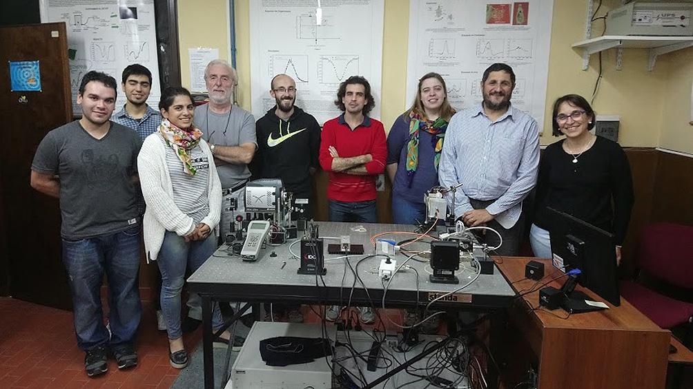 """El """"MamoRef"""" fue diseñado por el Grupo de Óptica Biomédica de la Facultad de Ciencias Exactas de la UniCen."""