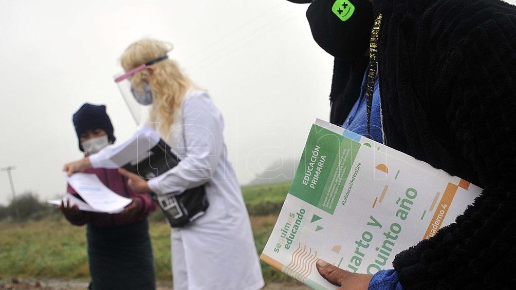 Las clases presenciales fueron suspendidas en marzo pasado por la pandemia de coronavirus, pero el actual ciclo lectivo continuó en forma remota.