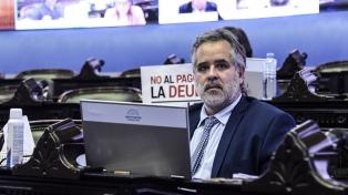 """Diputado lavagnista pide al FMI un """"esfuerzo real"""" que signifique un """"alivio"""" para el país"""