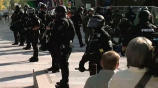 Un muerto en un tiroteo en una protesta en la ciudad de Denver