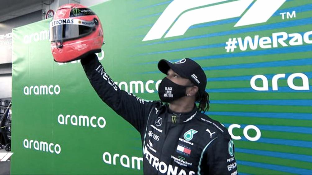"""Hamilton consiguió su """"pole"""" en la última vuelta"""