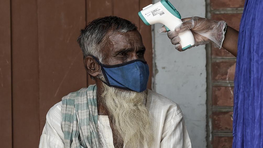 India reportó hasta ahora más de 11,5 millones de casos de coronavirus