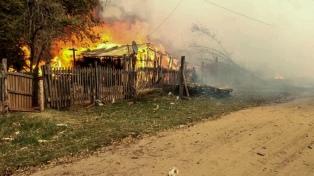 Estiman pérdidas superiores a US$ 4 millones en los aserraderos de Corrientes afectados por incendios