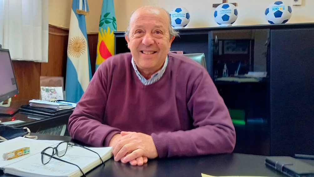 Jorge Paredi, jefe comunal de Mar Chiquita.