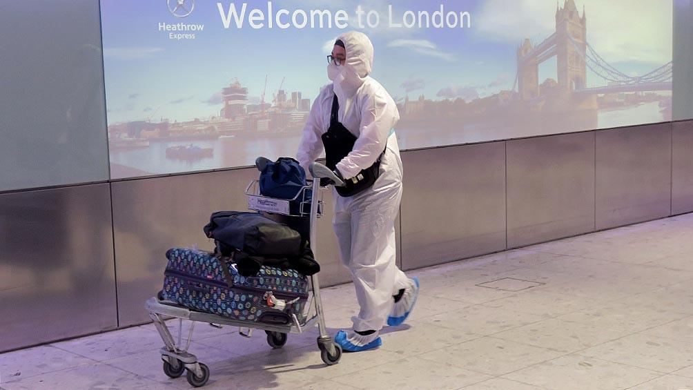 El Reino Unido es el segundo país más afectado de Europa por la pandemia, detrás de España